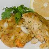 crab shrimp cake