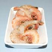 raw-headless shell on prawns