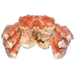Whole Cooked Red King Crab
